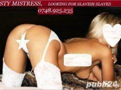 NASTY MISTRESS, Looking for slavish slaves